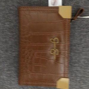 Faux leather wallet